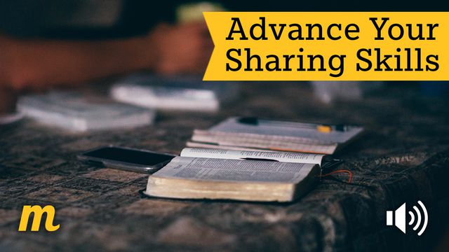 Advance Your Sharing Skills